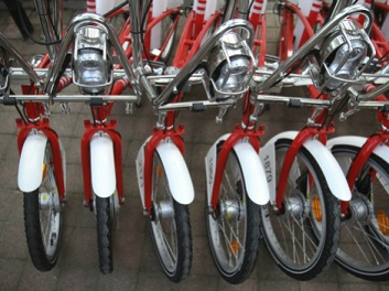 ...país bicicletero... foto tomada de www.milenio.com