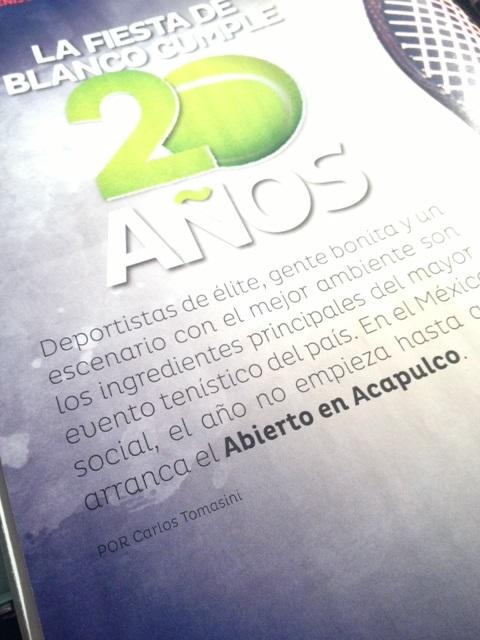Publicado en la revista Quién del 15 de febrero de 2013.