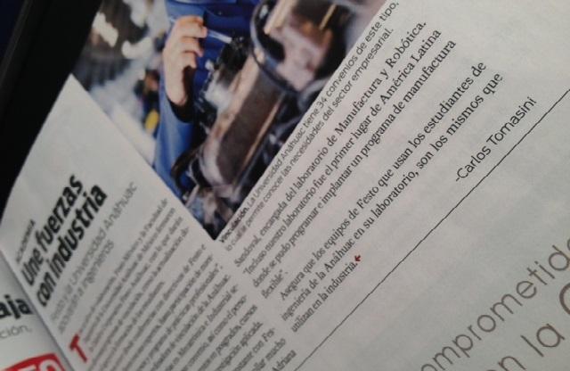 Publicado en la edición de marzo 2013 de la revista Manufactura.