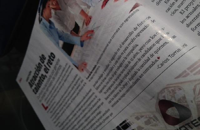 Publicada en la revista Manufactura de marzo 2013.