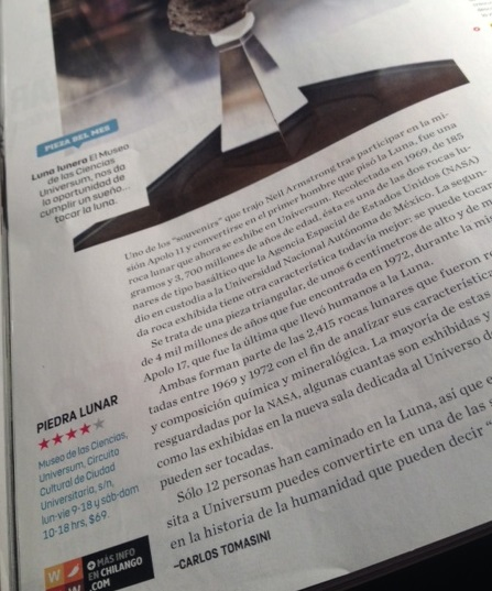 Publicado en la edición de febrero 2013 de Chilango.