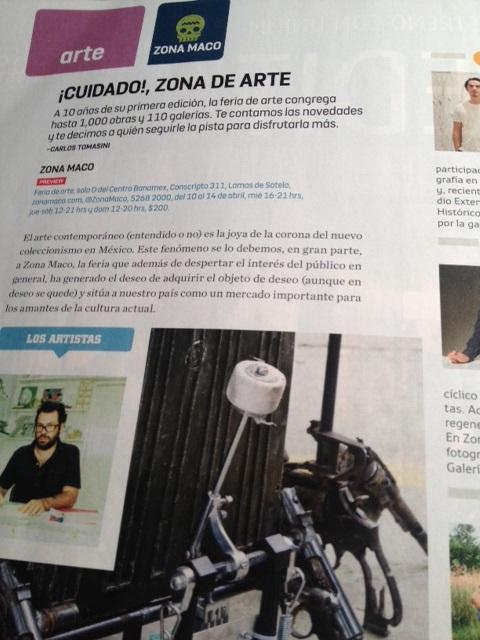 Publicado en el número de abril 2013 de Chilango.