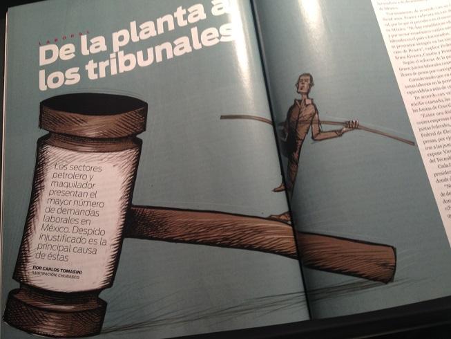 Reportaje publicado en la revista Manufactura de junio de 2013.