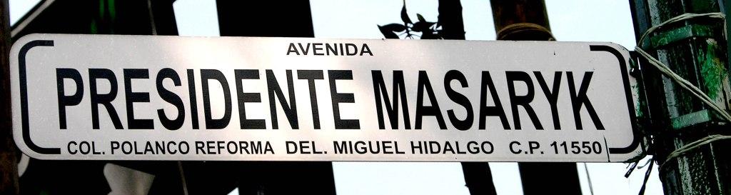 La calle Masaryk, en Polanco, debería ser nuestra Quinta Avenida.