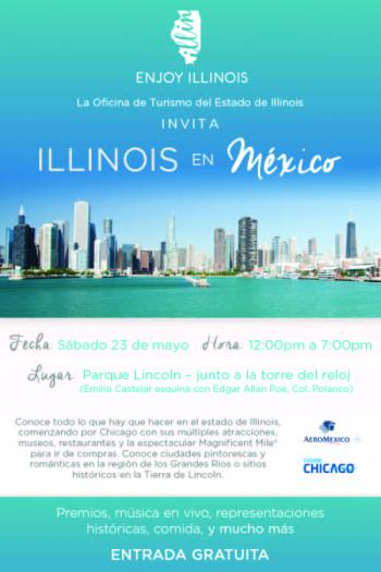Invitacion Evento Turismo Illinois 23 Mayo