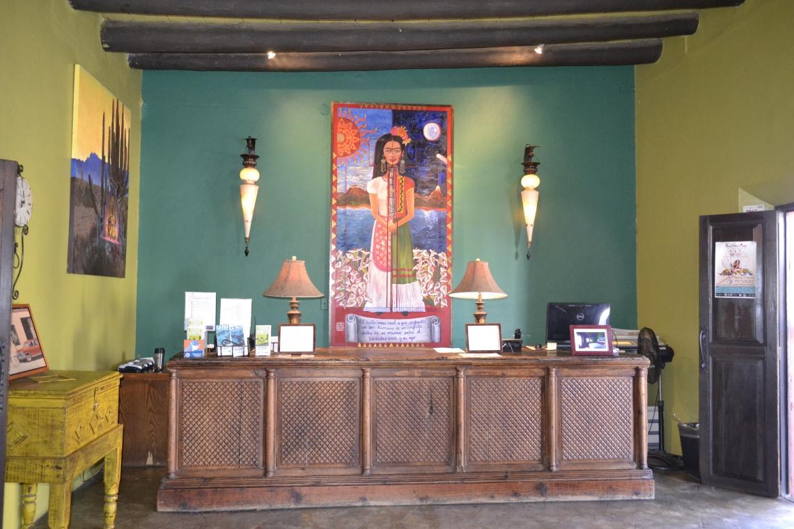 4 La recepción del Hotel California